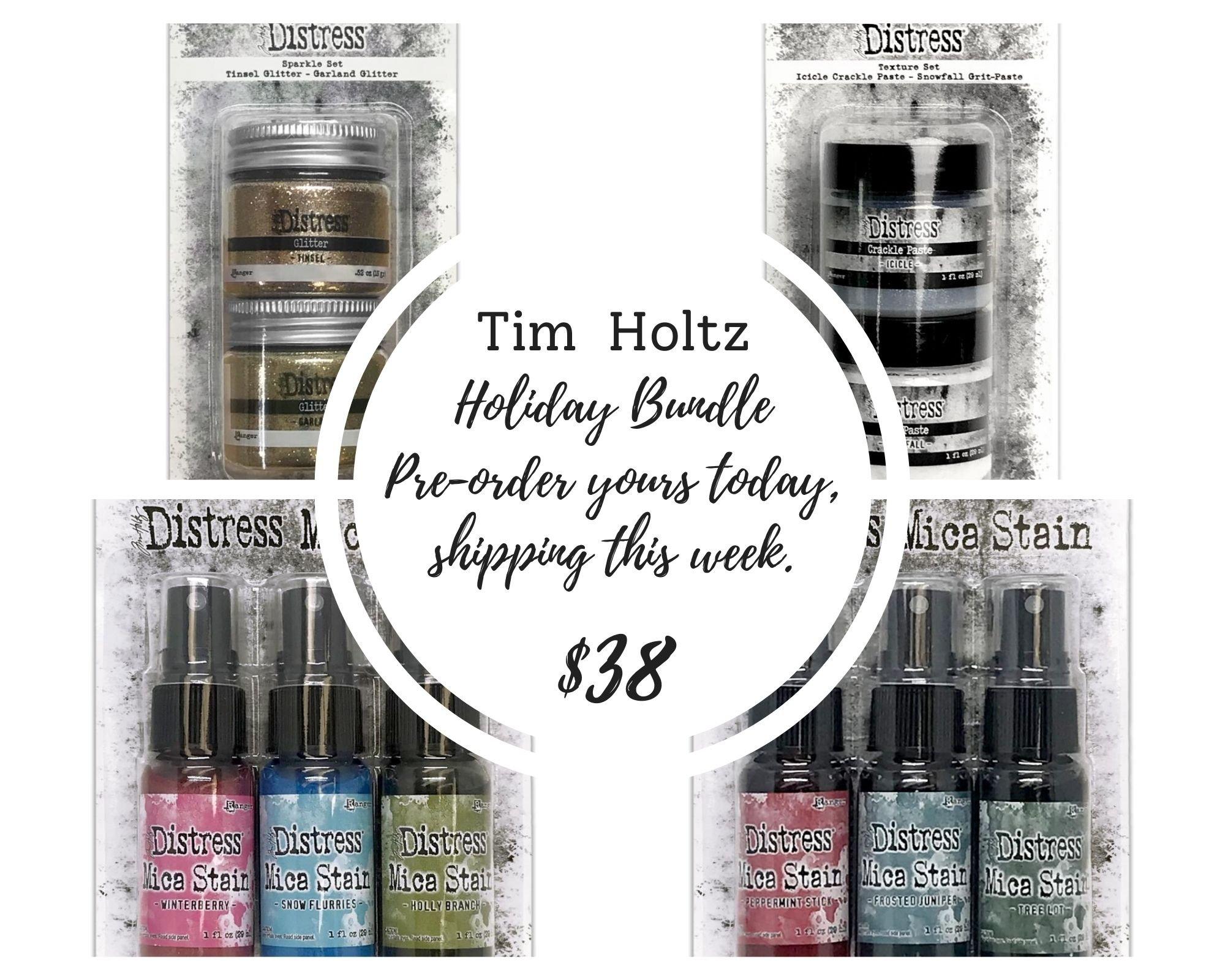 Tim Holtz Holiday Bundle