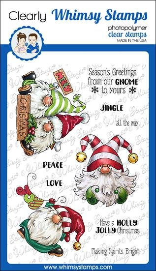 Gnome for Christmas Clear Stamps
