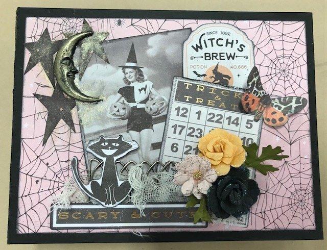 Vintage Halloween 6x8 Album