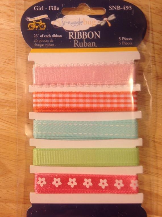 Snugglebug Ribbon Card