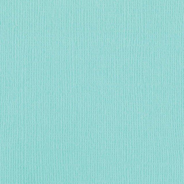 Bazzill Mono Cardstock 12X12-Aruba/Canvas