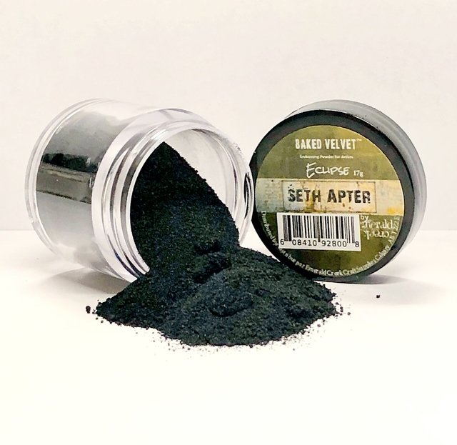 Seth Apter Baked Velvet Embossing Powder - Eclipse