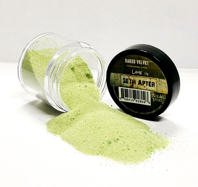 Seth Apter Baked Velvet Embossing Powder -Lime