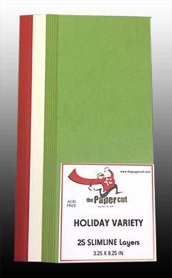 SLIMLINE Layers Holiday Variety 25ct