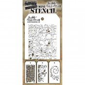 Tim Holtz Mini Layed Stencils #43