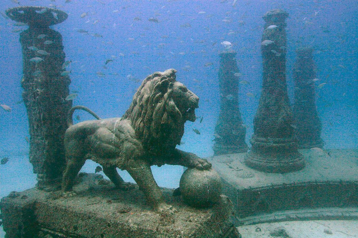 Neptune Memorial Reef & Wreck: April 10, 2021