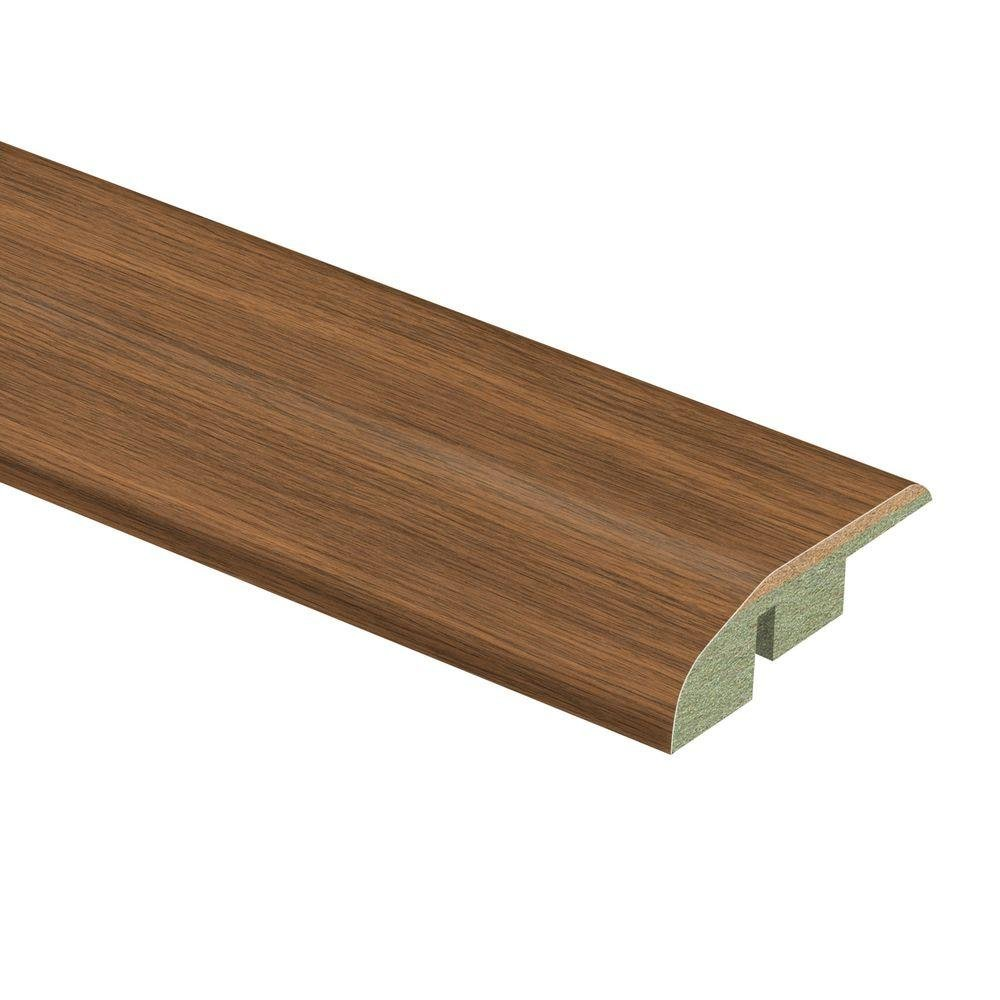 Asheville Hickory 1/2 in. Thick x 1-3/4 in. Wide x 72 in. Length Laminate Multi-Purpose Reducer Molding
