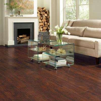 Dark Brown Hickory 7 Mm Thick X 8 1 32, Laminate Flooring Dark Brown
