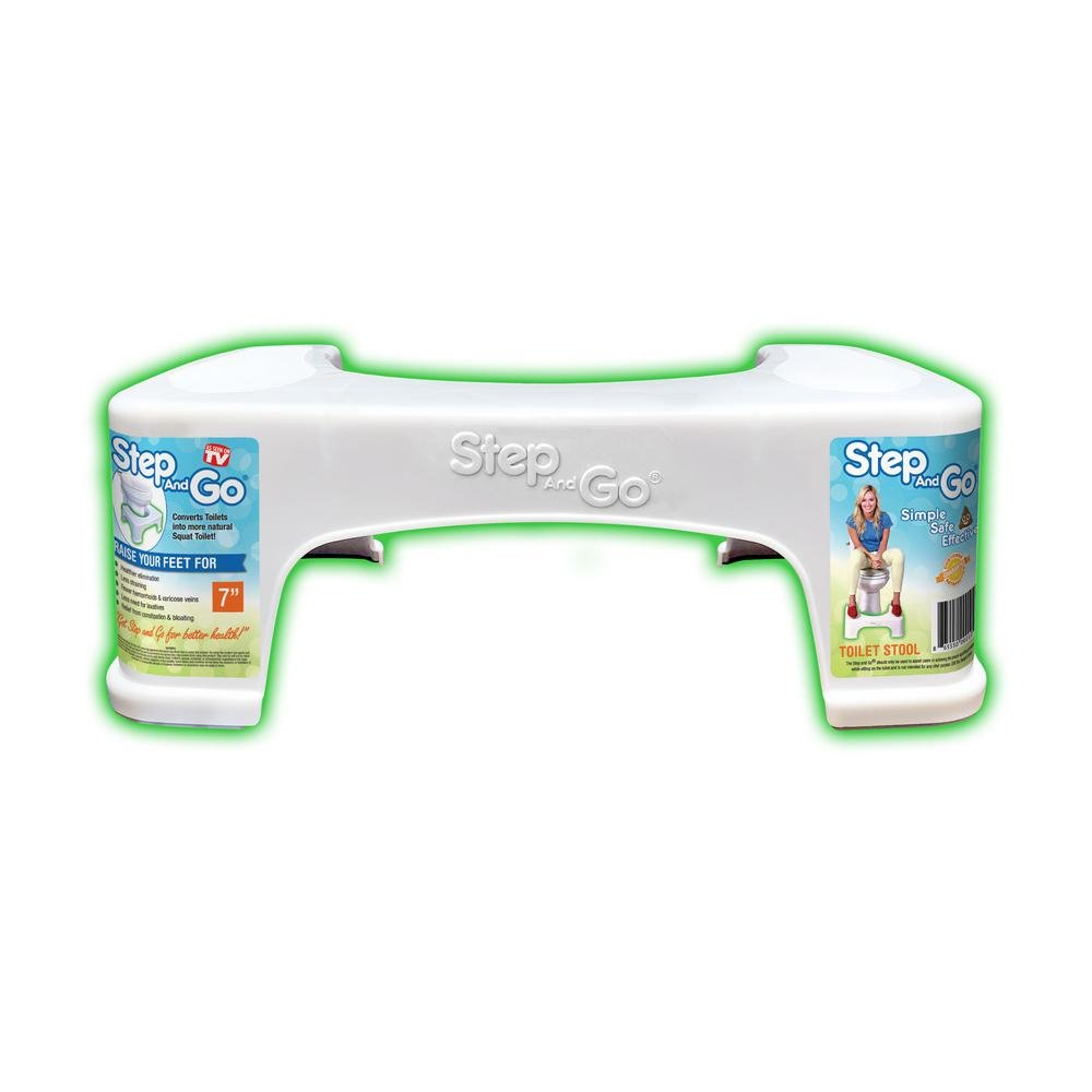 7 in. Squatty Toilet Potty Aid in White