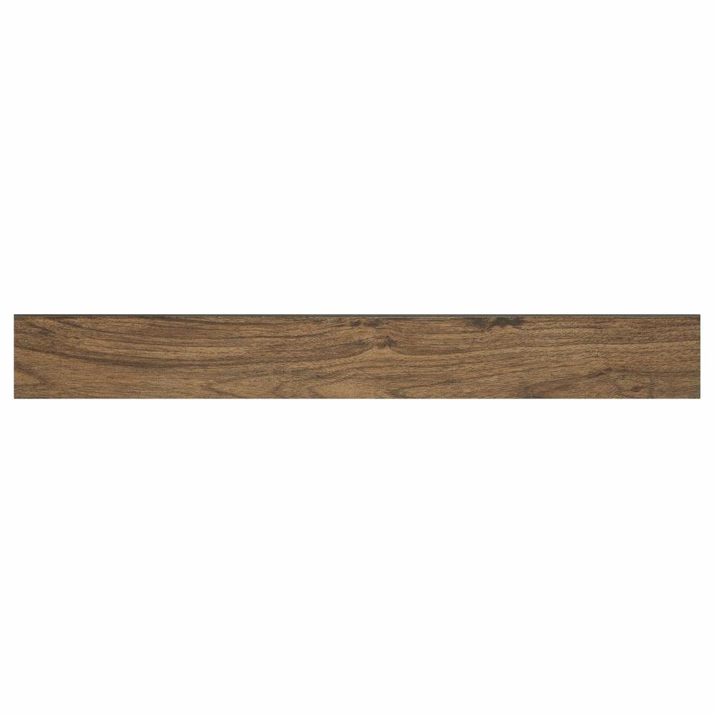 Seaside Oak 1 in. Thick x 2-1/2 in. Wide x 94 in. Length Vinyl Stair Nose Molding