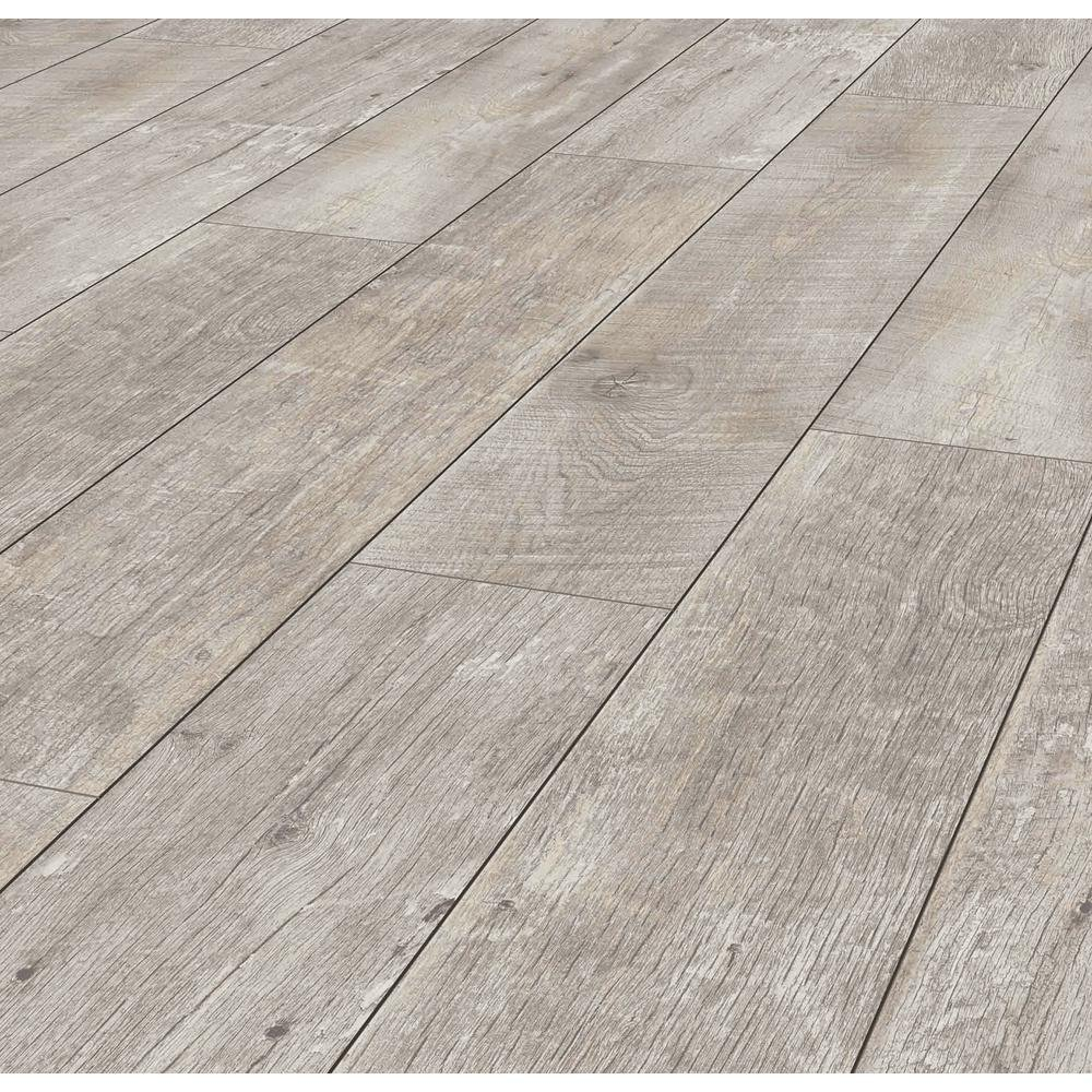 Folkstone Oak 12 mm Thick x 8.03 in. Wide x 47.64 in. Length Laminate Flooring (15.94 sq. ft.