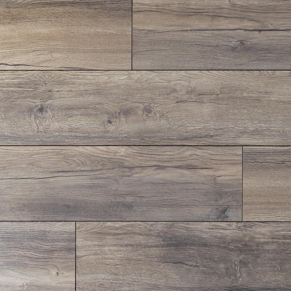 Home Decorators Collection EIR Waveford Gray Oak 12 mm Thick x 7-1/2 in. Wide x 50-2/3 in. Length Laminate Flooring (18.42 sq. ft. / case)