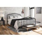 Novogratz Bushwick Full Metal Bed Black