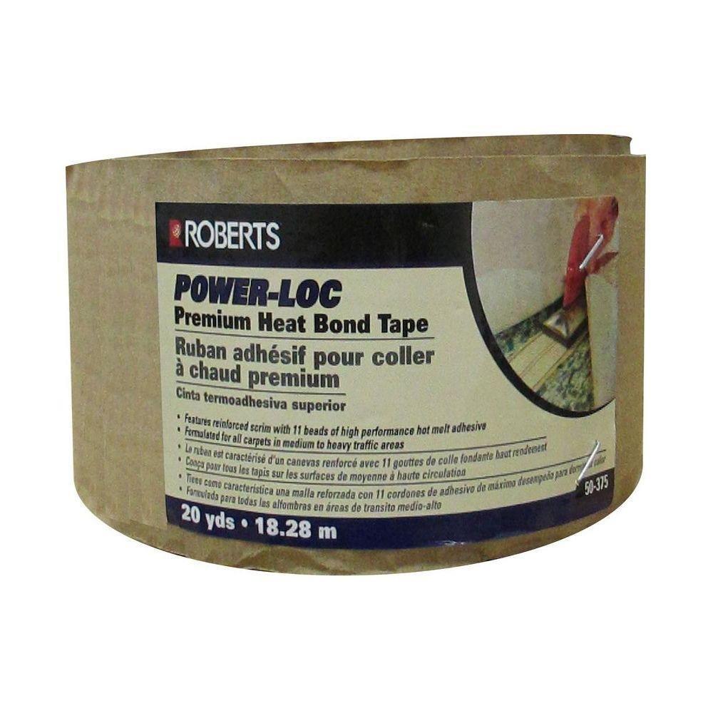 Power-Loc 60 ft. Premium Heat Bond Carpet Seaming Tape Roll