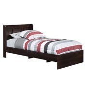 Sauder Parklane Platform Bed Twin Multiple Finishes with Headboard