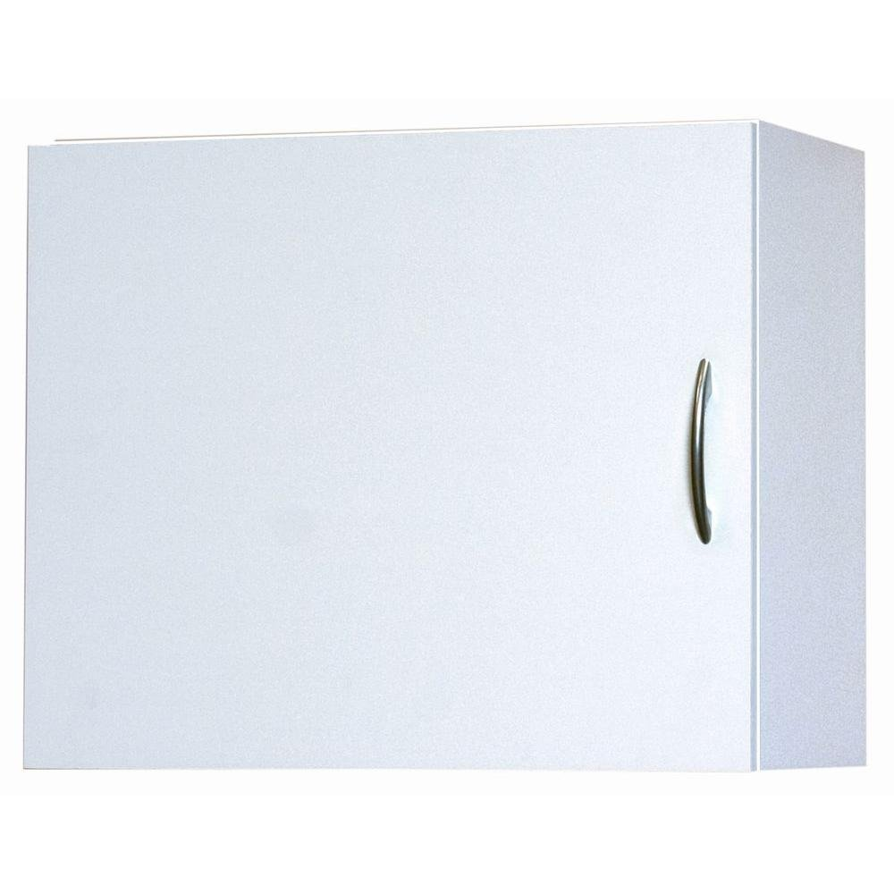 12.25 in. D x 24 in. W x 19.87 in. MDF Wall Cabinet Wood Closet System in White