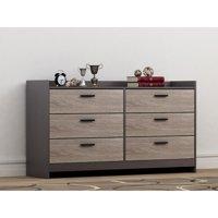 Homestar Central Park 6-Drawer Dresser