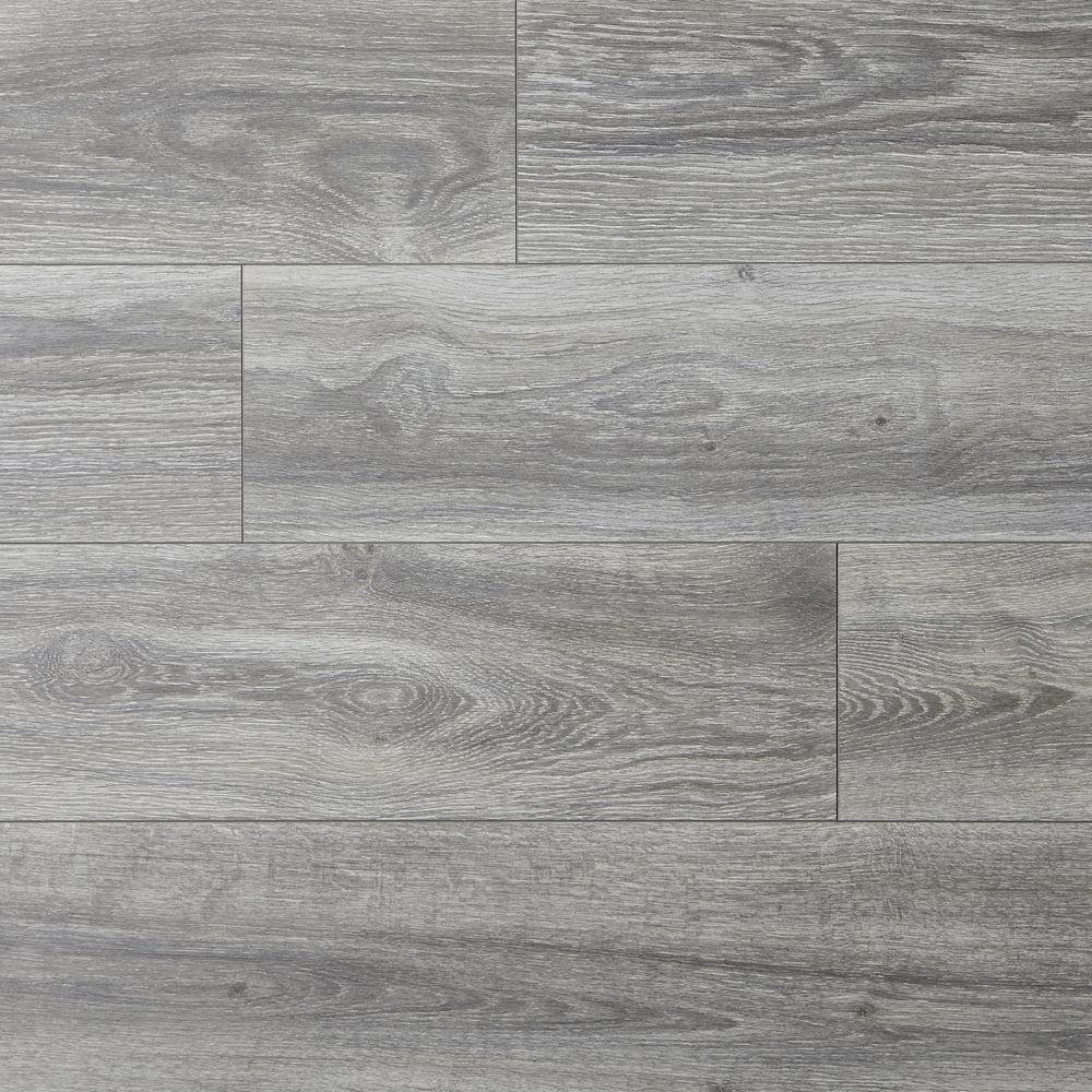Water Resistant EIR Silverton Oak 8 mm Thick x 7-1/2 in. Wide x 50-2/3 in Length Laminate Flooring (23.69 sq. ft./ case)