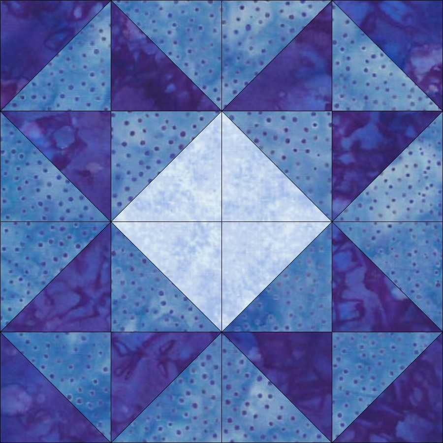 Quilter's Trek Pattern Kit - Mosaic Block