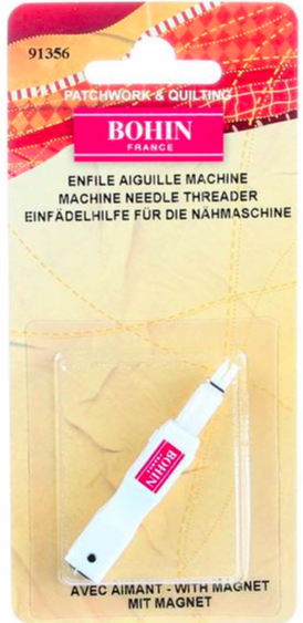 Bohin Machine Needle Threader with Magnet - 3073640913563 Quilting Notions