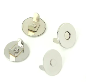 3/4 MAGNETIC SNAPS - NICKEL