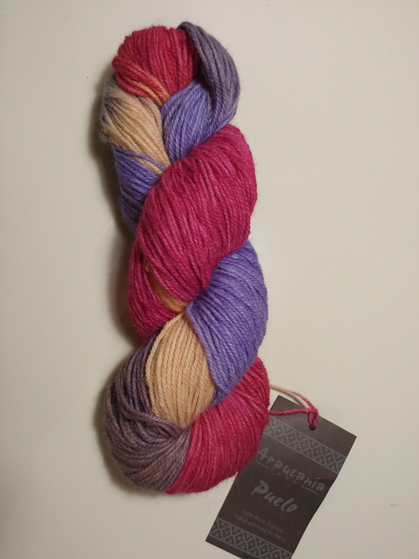 100% Alpaca Yarn - Hand Painted
