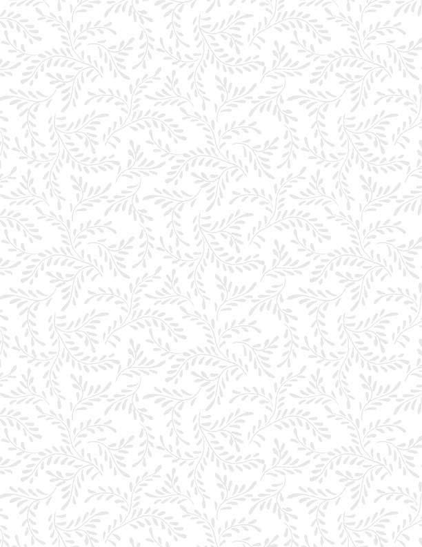 Sprigs White on White