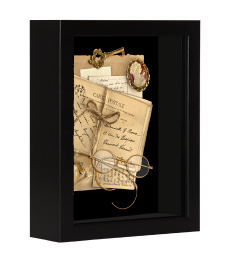 NB 5 x 7 Shadow Box Black Frame