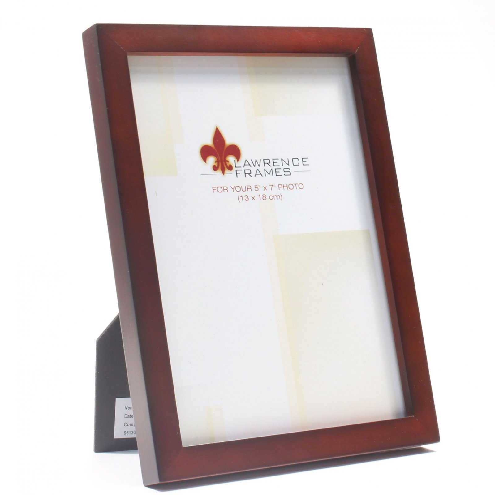 Lawrence 5 x 7 Walnut Photo Frame