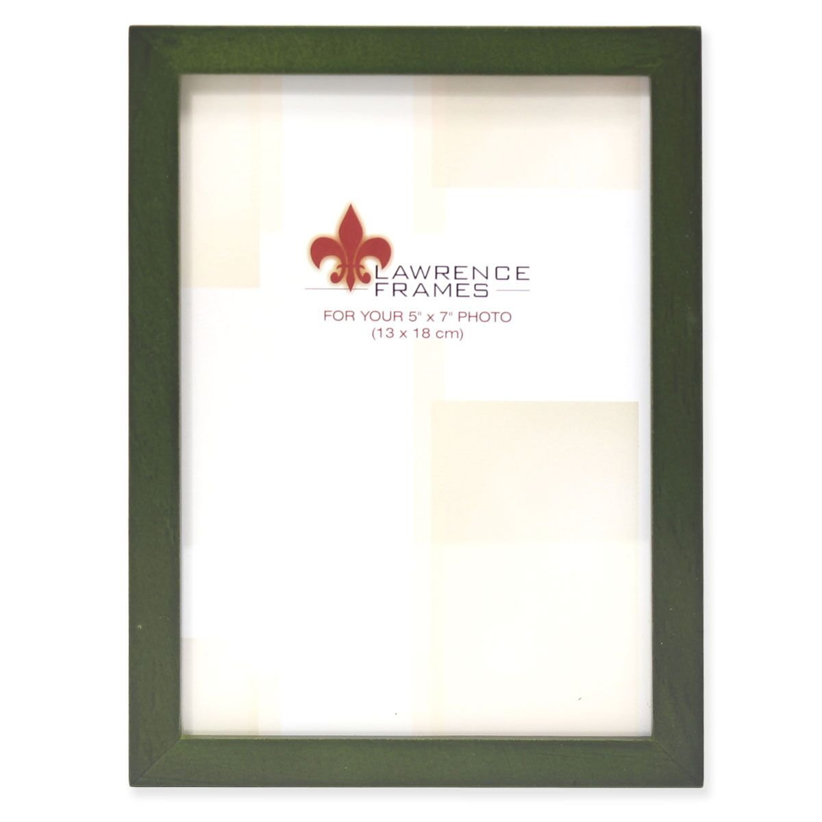 Lawrence 5 x 7 Green Photo Frame