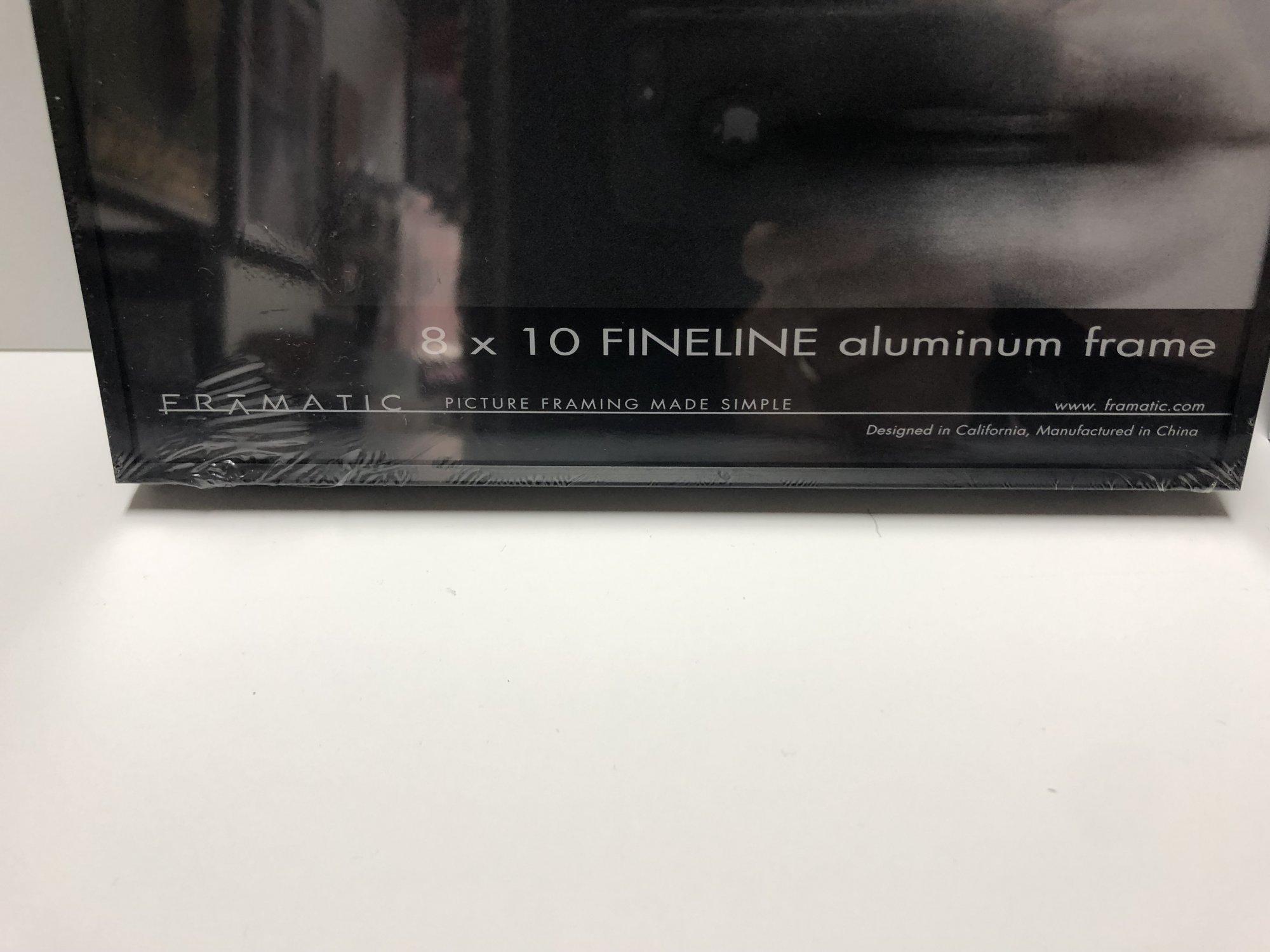 Framatic Fineline 8 x 10 Metal Readymade Frame