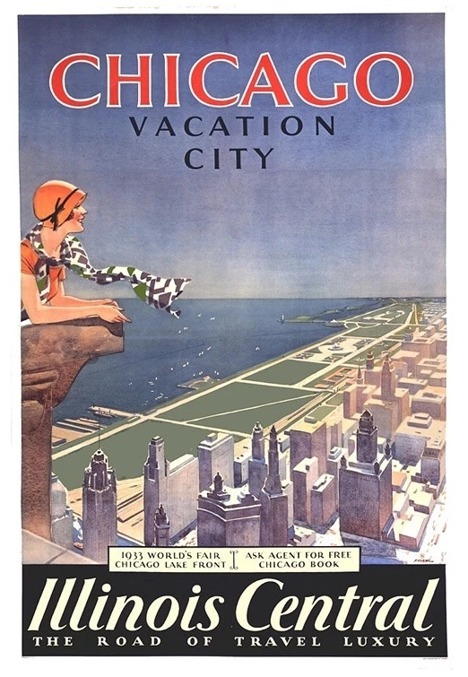 Chicago: Vacation City II Poster by Proehl