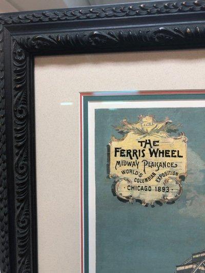 Detail of Ferris Wheel print