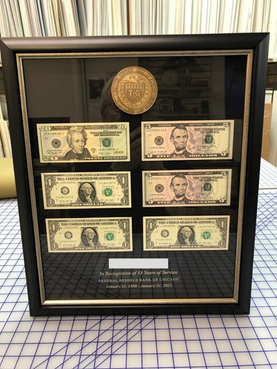 Federal Reserve Retirement Frame