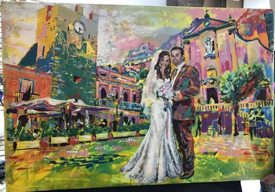 Kawasaki Wedding Canvas