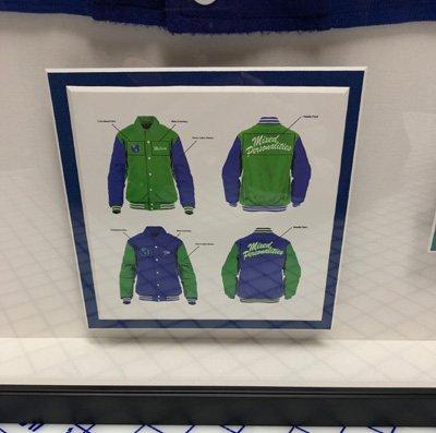 Deetail 1-Kanye West Memorabilia Jacket Frame