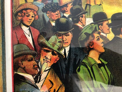 audience detail from carnival poster