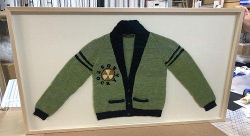 Sweater Shadowbox Framed for DePaul University