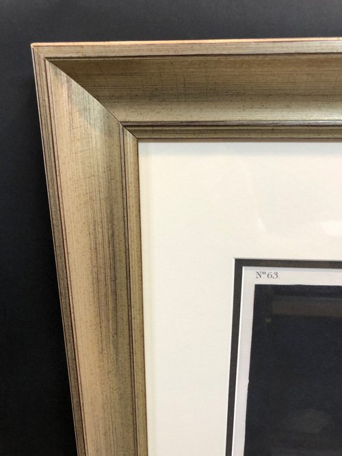 Audbon frame-upper left corner detail