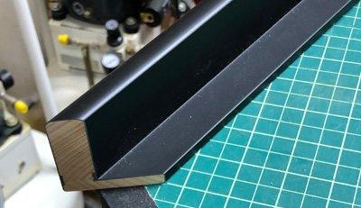 splice joint on Star Wars floater frame