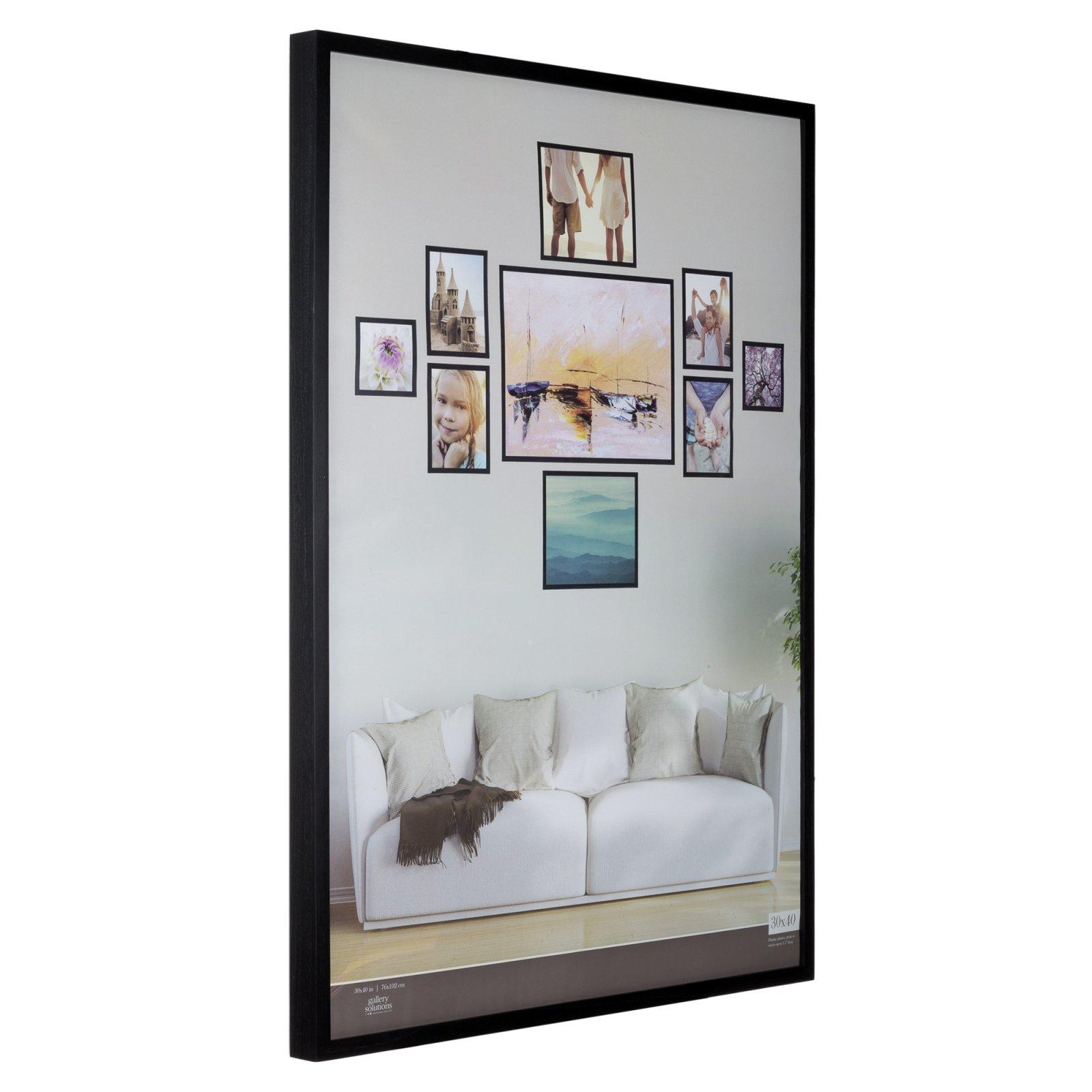 Nielsen Bainbridge 30 X 40 Matte Black Wood Gallery Frame