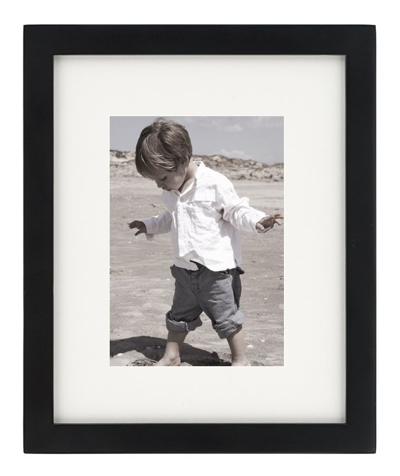 NB 8 x 10 Tribeca Wood  Frames Matted for 5 x 7