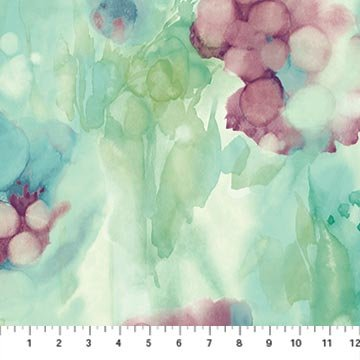 Watercolors Impressions Teal