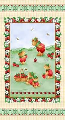 Strawberry Bears 9565P