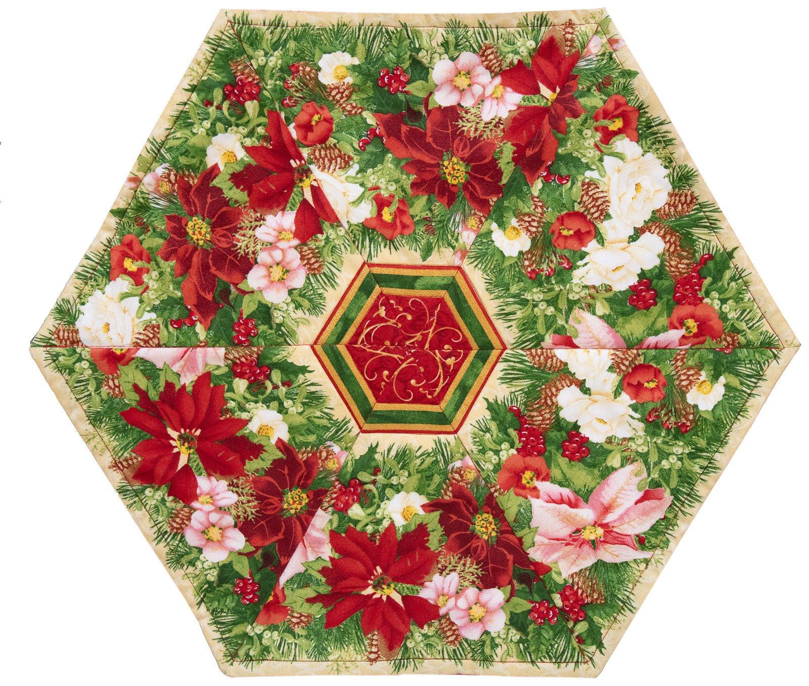 60 Degree Poinsettia
