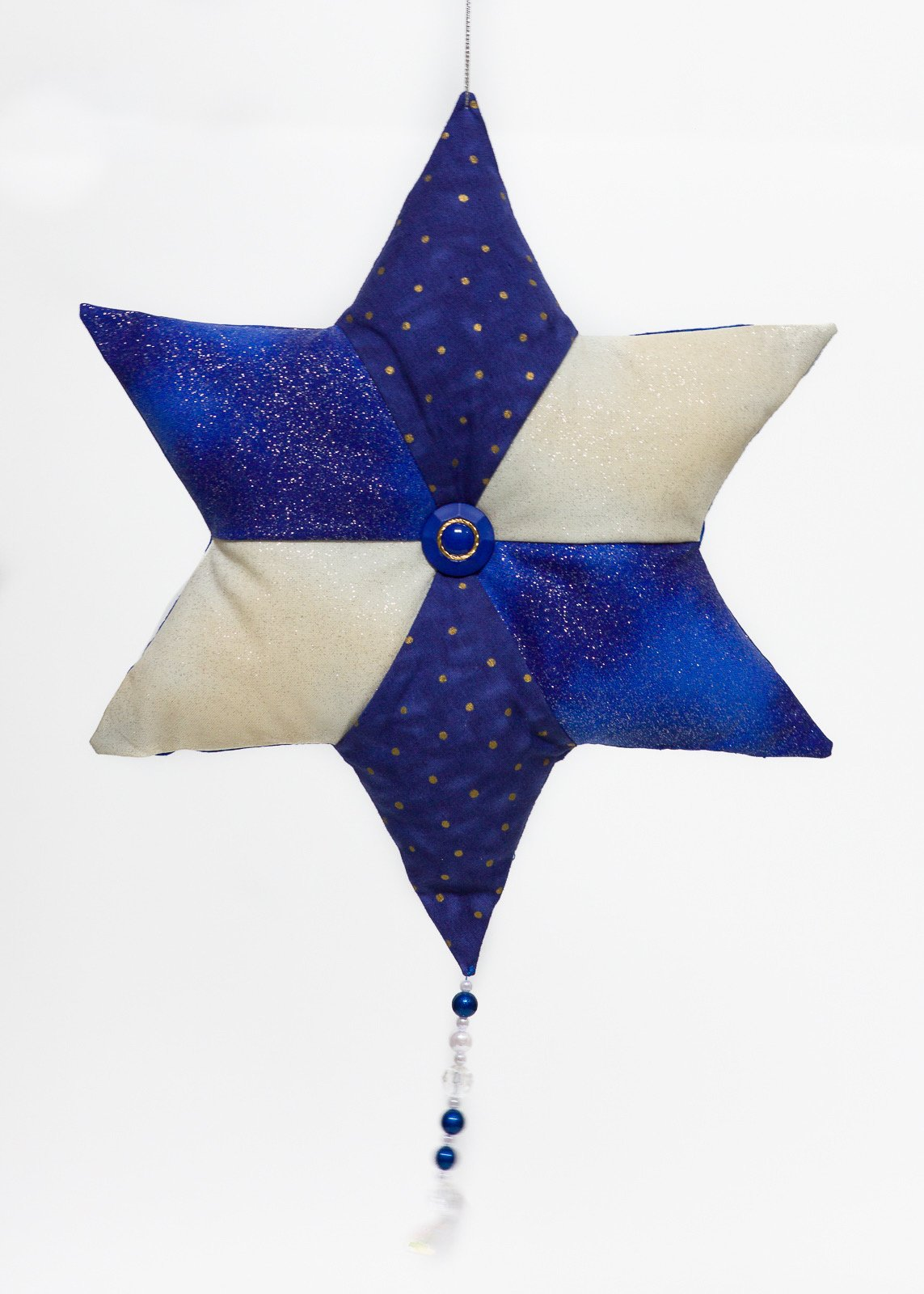 Blue & White Star Too