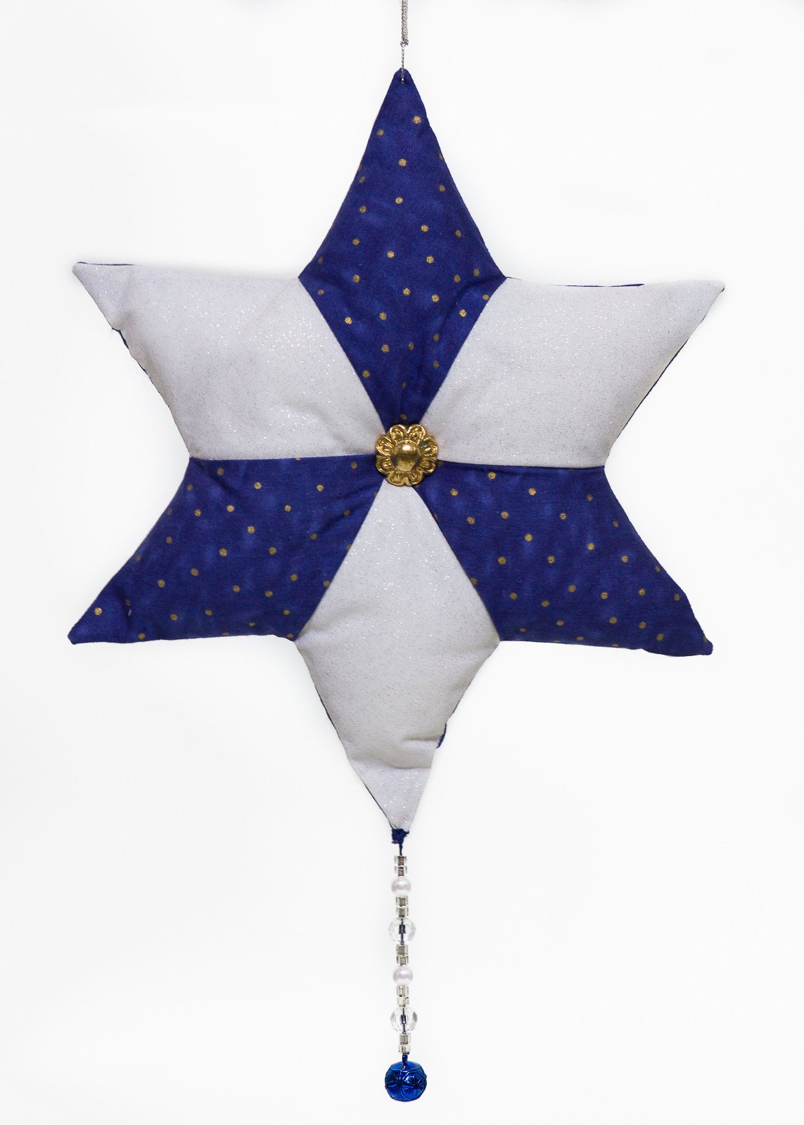 Blue & White Star