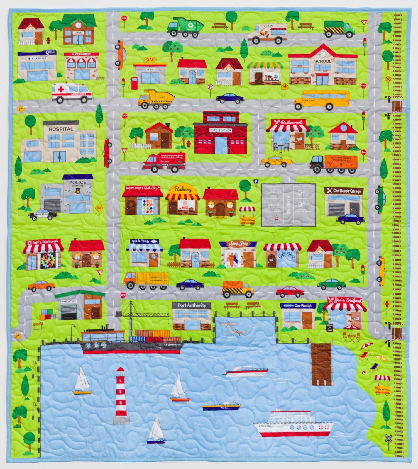 Seaport Wallhanging