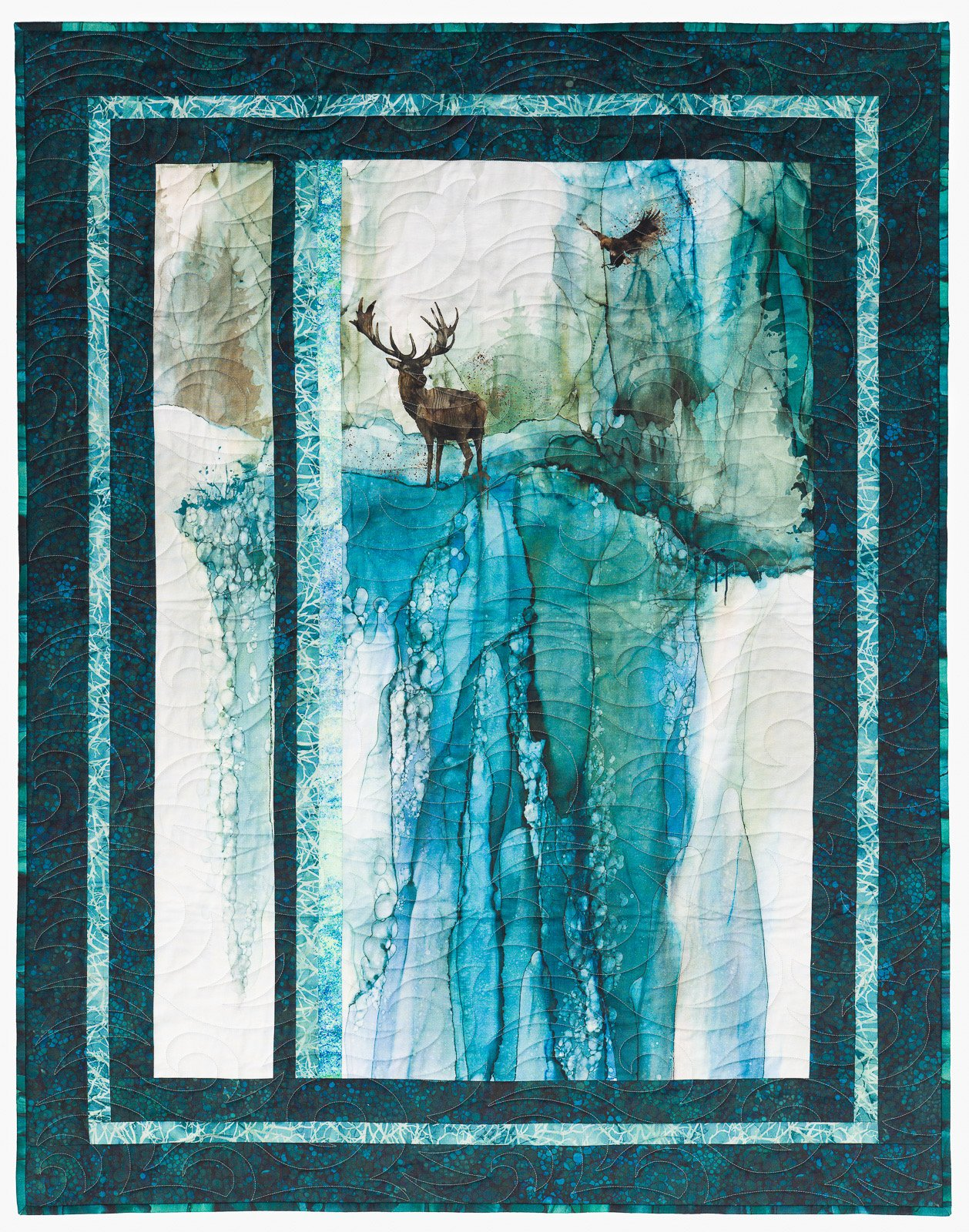 Whispering Pines Wallhanging
