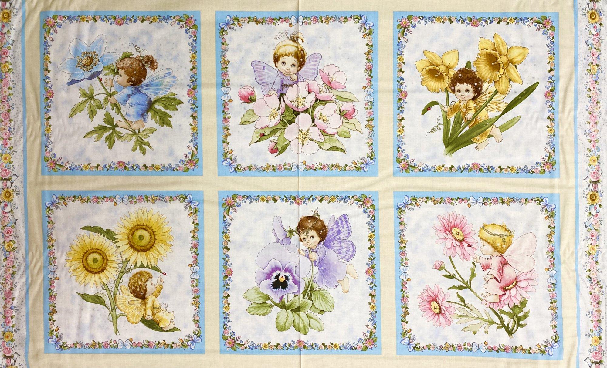 Angels & Fairies 6 Block Panel